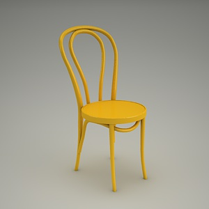 chair 3d model - CLASSIC BENT A-18.14