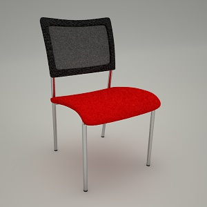 free 3d models - Conference chair INSERT 215