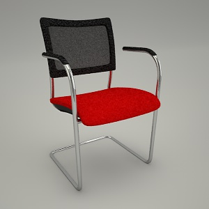 free 3d models - Conference armchair INSERT 220