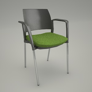 free 3d models - Conference armchair KYOS KY 220 2N