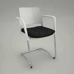 free 3d models - Conference armchair KYOS KY 230 2N