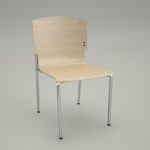 free 3d models - Conference chair SET UP K1N