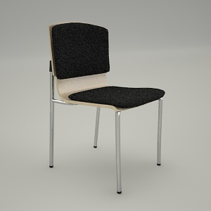 free 3d models - Conference chair SET UP K3N