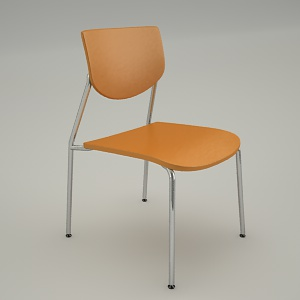 Conference armchair 3d model - VIM V1N