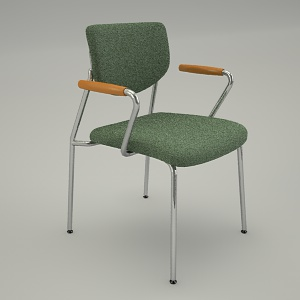 free 3d models - Conference armchair VIM V3N P16