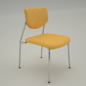 Conference armchair 3d model - VIM V3N