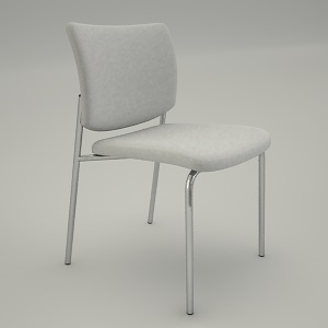 Conference armchair 3d model - ZIP 215