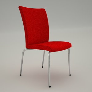 Conference armchair 3d model - ZIP 21H