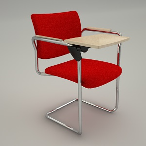 free 3d models - Conference armchair 3d model ZIP 230P