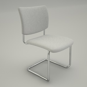 Conference armchair 3d model - ZIP 231