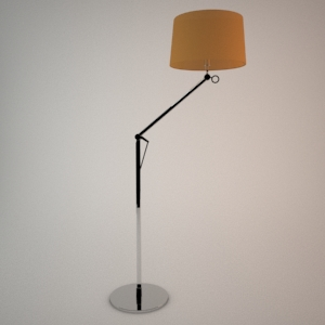 Floor lamp 3D model - WIENA