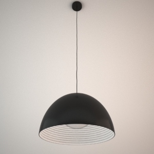 Pendant Lamp 3d Model Dome Maxlight Free 3d Models