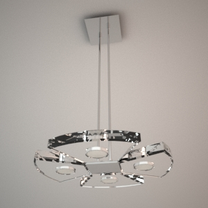 Pendant lamp 3D model - VENUS II