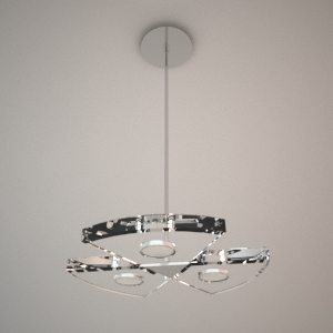 Pendant lamp 3D model - VENUS