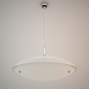 Pendant lamp 3D model - ZEPPELIN