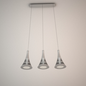 Pendant lamp 3D model - ZITRONE