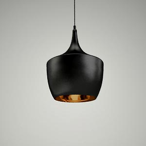free 3d models - pendant lamp 3d model - ORI P0022