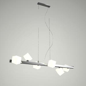 free 3d models - pendant lamp 3d model - PERU 6