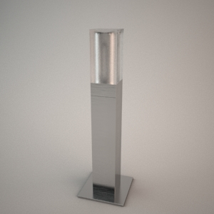 Outdoor lamp 3D model - PLEXGARDEN