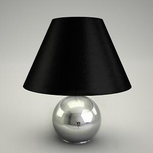 table lamp 3d model - ART