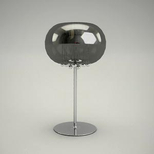 table lamp 3d model - MOONLIGHT