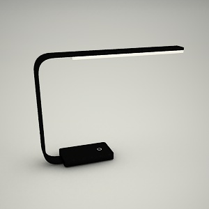 table lamp 3d model - OFFICE