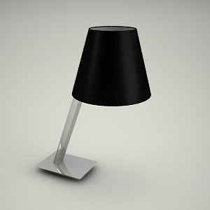 free 3d models - table lamp 3d model - ORLANDO