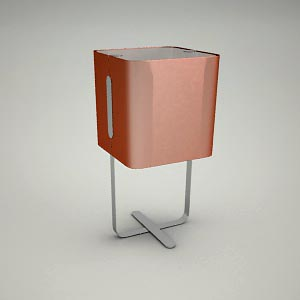 table lamp 3d model - RIALTO