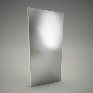 free 3d models - Mirror domino 40cm