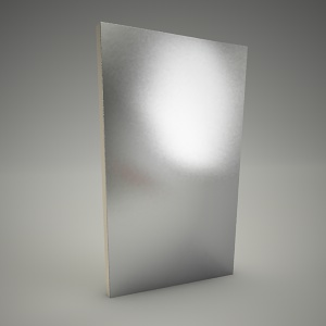 free 3d models - Mirror domino 50cm