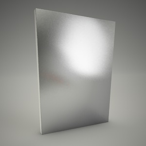 free 3d models - Mirror domino 60cm