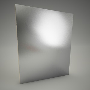 free 3d models - Mirror domino 70cm