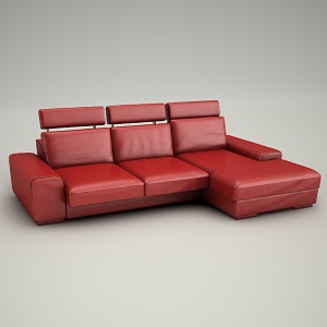 free 3d models - Sofa corner Calabria 3d - all collection