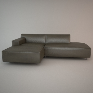 free 3d models - Corner sofa VESTA - all collection