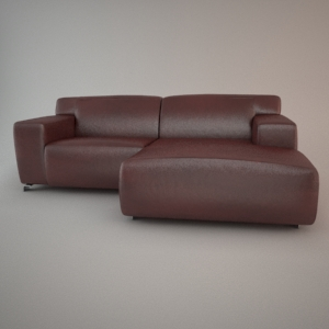 free 3d models - Corner sofa ZEUS - all collection