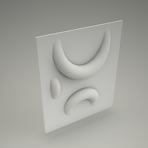 Wall panel 3d LAVER