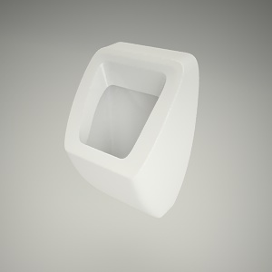free 3d models - Urinal pareo