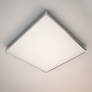 Ceiling lamp 3d model - BIGGY SQUARE