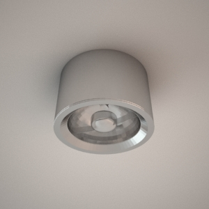 Ceiling lamp 3d model - FORM