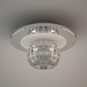 Ceiling lamp 3d model - GOLF