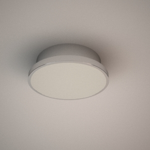 Ceiling lamp 3d model - LOA