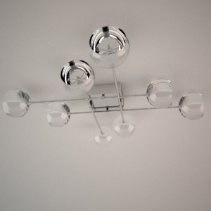 Ceiling lamp 3d model - SUNLIGHT