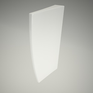 free 3d models - Ceramic barrier
