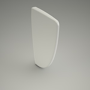 urinal partition 3d model
