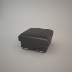 free 3d models - Pouf 3d model - HAVANA 18