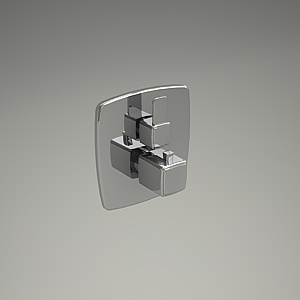 free 3d models - Q-BEO shower mixer 508200542_3