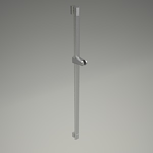 Q-BEO shower rail 3d model 5012005-00_3
