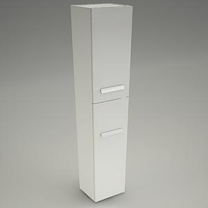 Bathroom Cabinet Xantia 160 Cersanit Free 3d Models