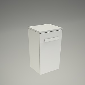 free 3d models - Bathroom cabinet XANTIA 60