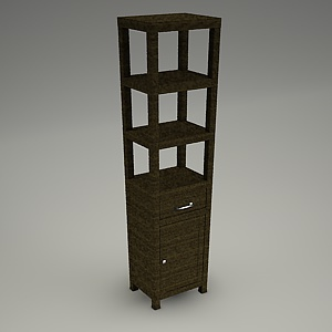 tall cabinet 3d model - ARVENA